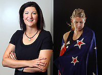 16.05.2013 New Silver Ferns assistant coach Vicki Wilson at the Netball New Zealand offices in Auckland New Zealand. Mandatory Photo Credit ©Michael Bradley.