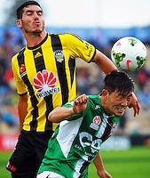 150222 A-League Football - Wellington Phoenix v Newcastle Jets