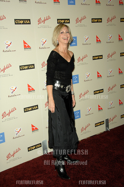 OLIVIA NEWTON JOHN at the Penfolds Icon Gala - part of the G'Day LA week - at the Century Plaza Hotel..January 13, 2007 Los Angeles, CA.Picture: Paul Smith / Featureflash