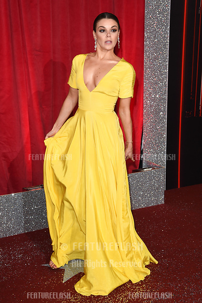Faye Brookes at The British Soap Awards at The Lowry in Manchester, UK. <br /> 03 June  2017<br /> Picture: Steve Vas/Featureflash/SilverHub 0208 004 5359 sales@silverhubmedia.com