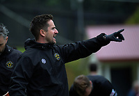 Team Wellington coach Jose Figueira during the 2019 OFC Champions League quarter final football match between Team Wellington and Henderson Eels at David Farrington Park in Wellington on Sunday, 7 April 2019. Photo: Dave Lintott / lintottphoto.co.nz