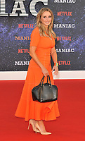 Carol Vorderman at the &quot;Maniac&quot; UK TV premiere, Southbank Centre, Belvedere Road, London, England, UK, on Thursday 13 September 2018.<br /> CAP/CAN<br /> &copy;CAN/Capital Pictures