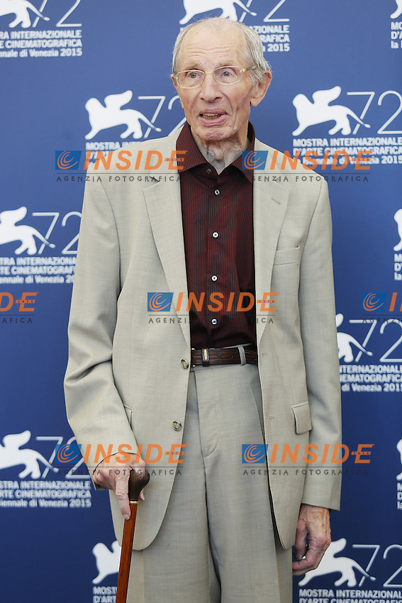 VENICE, ITALY - SEPTEMBER 10: Heinz Lieven attends 'Remember' Photocall during 72nd Venice Film Festival at Palazzo Del Cinema on September 10, 2015 in Venice, Italy. (Mark Cape/insidefoto)