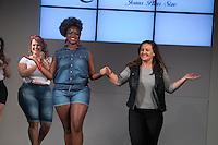 SÃO PAULO, SP, 24.07.2016 - MODA-SP - Desfile da marca Xtra Charmy durante o 14 Fashion Weekend Plus Size que acontece neste domingo, 24 no Centro de Convenções Frei Caneca. (Foto: Ciça Neder/Brazil Photo Press/Folhapress)