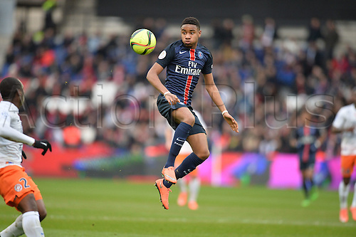 05.03.2016. Paris, France. French League 1 football. Paris St Germain versus Montpellier.  Christopher NKUNKU (psg)