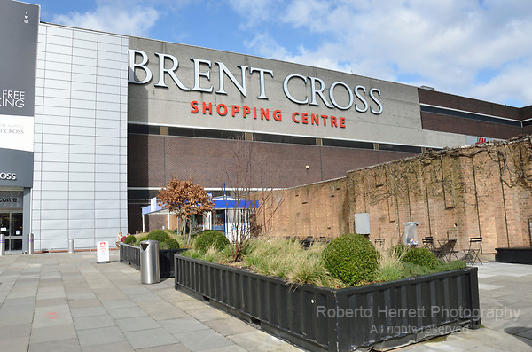 Brent Cross Shopping Centre, London, UK.
