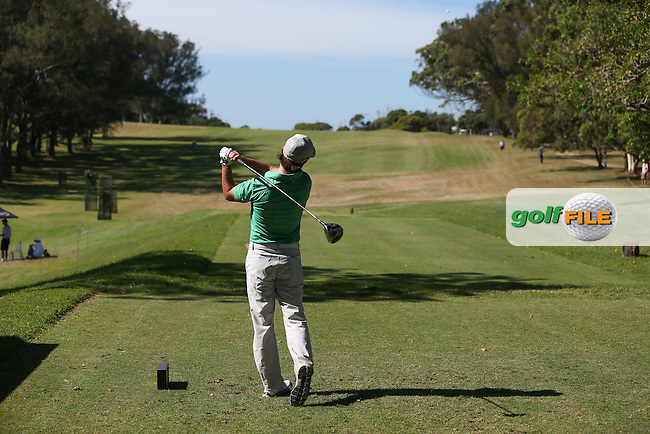 Mark Tullo (CHI) drives up the 15th during Round Three of the Africa Open 2015 at the East London Golf Club, East London, Eastern Cape, South Africa. Picture:  David Lloyd / www.golffile.ie. 07/03/2015