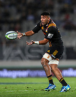 Taleni Seu of the Chiefs during the Super Rugby Match between the Blues and the Chiefs at Eden Park in Auckland, New Zealand on Friday, 26 May 2017. Photo: Simon Watts / www.lintottphoto.co.nz