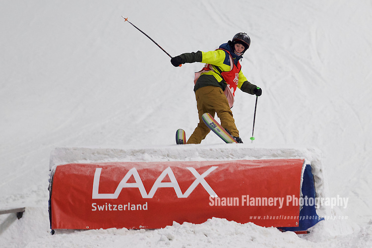 Pix: Shaun Flannery/shaunflanneryphotography.com<br /> <br /> COPYRIGHT PICTURE>>SHAUN FLANNERY>01302-570814>>07778315553>><br /> <br /> 15th October 2016<br /> British Indoor Slopestyle Championships 2016<br /> Chill Factore, Manchester<br /> <br /> Mason Flannery