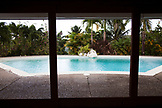 JAMAICA, Port Antonio. Private residence of Jon Baker, owner of the Geejam Hotel.