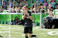GRONINGEN - Voetbal, Open dag FC Groningen ,  seizoen 2017-2018, 06-08-2017,  FC Groningen speler Django Warmerdam