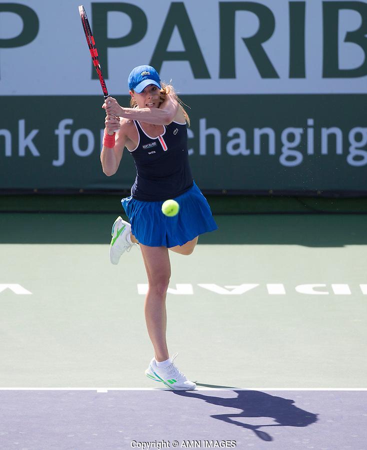 ALIZE CORNET (FRA)<br /> <br /> Tennis - BNP PARIBAS OPEN 2015 - Indian Wells - ATP 1000 - WTA Premier -  Indian Wells Tennis Garden  - United States of America - 2015<br /> &copy; AMN IMAGES