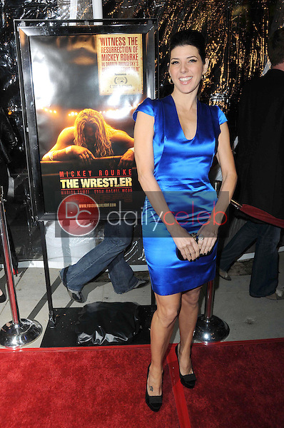 Marisa Tomei <br /> at the Los Angeles Premiere of 'The Wrestler'. The Academy Of Motion Arts &amp; Sciences, Los Angeles, CA. 12-16-08<br /> Dave Edwards/DailyCeleb.com 818-249-4998