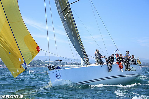 Chris and Patanne Power Smith's J/122 Aurelia is one of Irish offshore racing's most consistent performers