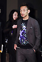 Former Japanese football player Hidetoshi Nakata attends the opening celebration for Louis Vuitton's ''Volez, Voguez, Voyagez'' exhibition on April 21, 2016, Tokyo, Japan. After a successful run in Paris, the luxury fashion brand now brings the instalment to Tokyo, which traces Louis Vuitton's history from 1854 to today. Some 1,000 objects, including rare trunks, photographs and handwritten client cards will be displayed. Japanese room will be set up specially for Japan, showcasing such rare items as makeup and tea ceremony trunks for kabuki actor Ebizo XI. The exhibition will be open to the public free of charge from April 23 to June 19. (Photo by Rodrigo Reyes Marin/AFLO)