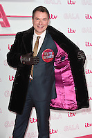 LONDON, UK. November 24, 2016: Richard Arnold at the 2016 ITV Gala at the London Palladium Theatre, London.<br /> Picture: Steve Vas/Featureflash/SilverHub 0208 004 5359/ 07711 972644 Editors@silverhubmedia.com