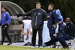 01 November 2012: UNC head coach Carlos Somoano. The University of North Carolina Tar Heels played the Boston College Eagles at Fetzer Field in Chapel Hill, North Carolina in a 2012 NCAA Division I Men's Soccer game. UNC defeated Boston College 4-0.