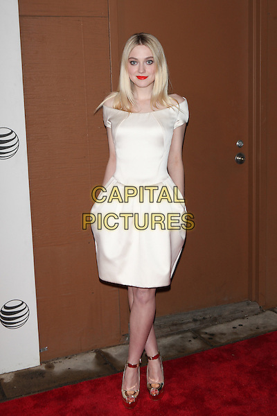NEW YORK, NY - APRIL 17: Dakota Fanning  at the World Premiere Narrative of 'Franny' Screening during the 2015 Tribeca Film Festival at BMCC on April 17, 2015 in New York City.  <br /> CAP/MPI/COR99<br /> &copy;COR99/MPI/Capital Pictures