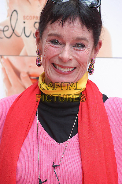 "GERALDINE CHAPLIN.Photocall for the film ""Melissa P"" at the Cinema Moderno, Rome, Italy..November 17th, 2005.Ref: CAV.headshot portrait earrings.www.capitalpictures.com.sales@capitalpictures.com.© Capital Pictures."