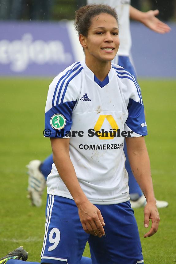 Celia Sasic (FFC) nach vergebener Torchance - 1. FFC Frankfurt vs. Bayer 04 Leverkusen