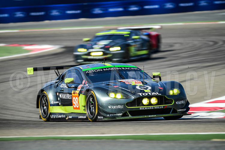 #98 ASTON MARTIN RACING (GBR) ASTON MARTIN VANTAGE LMGTE AM PAUL DALLA LANA (CAN) PEDRO LAMY (PRT) MATHIAS LAUDA (AUT)