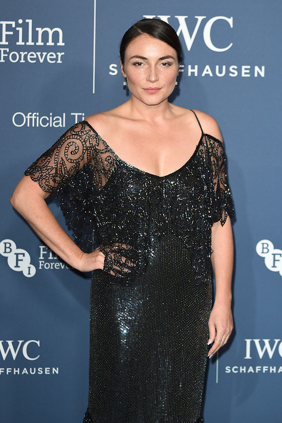 Lois Winstone<br /> arriving for the 2018 IWC Schaffhausen Gala Dinner in Honour of the BFI at the Electric Light Station, London<br /> <br /> ©Ash Knotek  D3437  09/10/2018