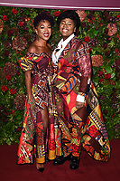 Cherrelle Skeete and Shiloh Coke<br /> arriving for the Evening Standard Theatre Awards 2019, London.<br /> <br /> ©Ash Knotek  D3539 24/11/2019