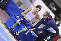 SPEED SKATING: SALT LAKE CITY: 21-11-2015, Utah Olympic Oval, ISU World Cup, 10.000m Men, Sven Kramer (NED) met coach Jac Orie, ©foto Martin de Jong