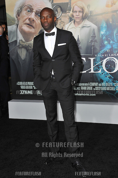 "David Gyasi at the Los Angeles premiere of his new movie ""Cloud Atlas"" at Grauman's Chinese Theatre, Hollywood..October 24, 2012  Los Angeles, CA.Picture: Paul Smith / Featureflash"