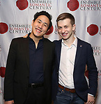 """Henry Wang and Ari Evan attends the Opening Night Celebration for Ensemble for the Romantic Century Off-Broadway Premiere of<br />""""Maestro"""" at the West Bank Cafe on January 15, 2019 in New York City."""