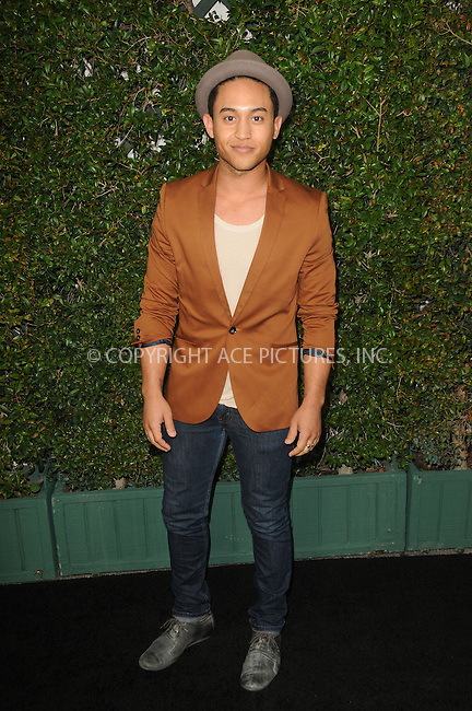 WWW.ACEPIXS.COM . . . . .  ....May 1 2012, LA....Tahj Mowry arriving at ABC Family Upfronts at The Sayers Club on May 1, 2012 in Hollywood, California.....Please byline: PETER WEST - ACE PICTURES.... *** ***..Ace Pictures, Inc:  ..Philip Vaughan (212) 243-8787 or (646) 769 0430..e-mail: info@acepixs.com..web: http://www.acepixs.com
