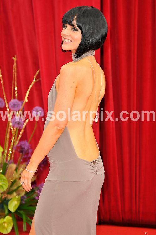 **ALL ROUND PICTURES FROM SOLARPIX.COM**                                             **WORLDWIDE SYNDICATION RIGHTS**                                                                                  Caption: Stars arrive at British TV Soap awards 2011 in Manchester. EastEnders winning Best Soap for the fourth time in a row, but with Corrie sweeping the board and landing eight out of 15 categories. 14 May 2011                                                                             This pic: Stephanie Waring JOB REF: 13345 MSR       DATE: 14_05_2011                                                           **MUST CREDIT SOLARPIX.COM OR DOUBLE FEE WILL BE CHARGED**                                                                      **MUST AGREE FEE BEFORE ONLINE USAGE**                               **CALL US ON: +34 952 811 768 or LOW RATE FROM UK 0844 617 7637**