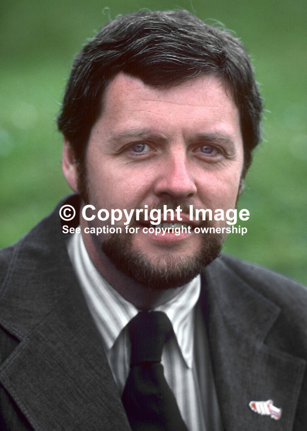 Dr Fred Burns O'Brien, director, Irish National Caucus, Washington, DC, USA, 1978000214FBOB1.<br />