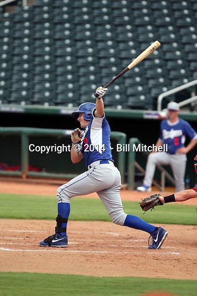 Adam Law - 2014 AIL AIL Dodgers (Bill Mitchell)