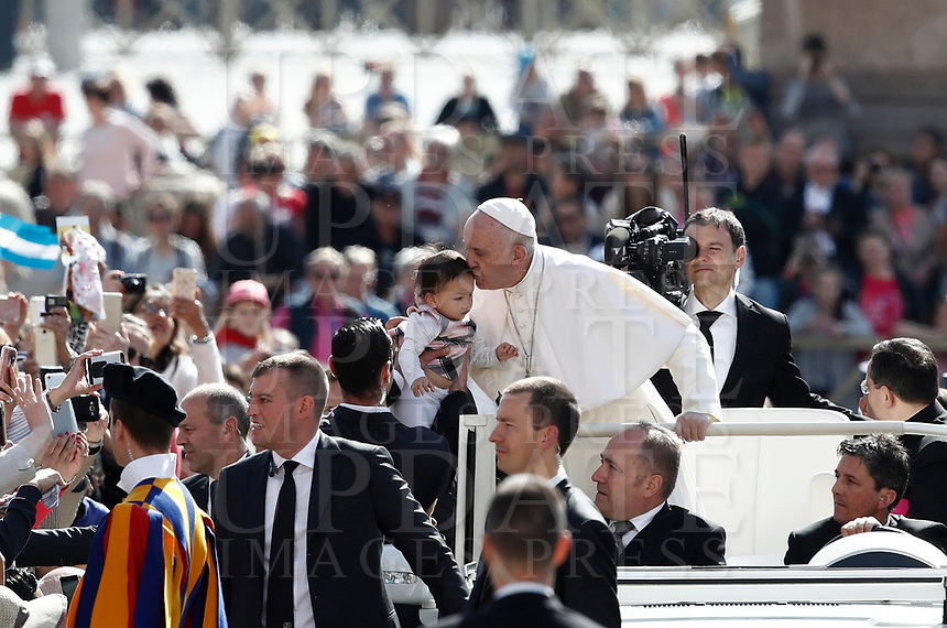 at the Vatican, on May 3, 2017.<br /> UPDATE IMAGES PRESS/Isabella Bonotto<br /> <br /> STRICTLY ONLY FOR EDITORIAL USE