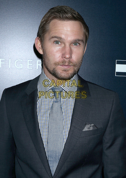 Brian Geraghty.Tommy Hilfiger West Coast Flagship Grand Opening Event, West Hollywood, California, USA, .13th February 2013 ..portrait headshot grey gray suit tie shirt beard facial hair .CAP/ADM/RE.©Russ Elliot/AdMedia/Capital Pictures.