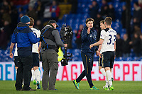 Tottenham Hotspur manager Mauricio Pochettino congratulates Ben Davies after the game         <br /> <br /> <br /> Photographer Craig Mercer/CameraSport<br /> <br /> The Premier League - Crystal Palace v Tottenham Hotspur - Wednesday 26th April 2017 - Selhurst Park - London<br /> <br /> World Copyright &copy; 2017 CameraSport. All rights reserved. 43 Linden Ave. Countesthorpe. Leicester. England. LE8 5PG - Tel: +44 (0) 116 277 4147 - admin@camerasport.com - www.camerasport.com