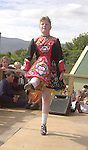 Caroline O' Brien from the Daly King school of Irish dancing  performing in the Munster Fleadh Cheoil na hEireann in Miltown Co. Kerry on Sunday afternoon.<br />Pic: Eamonn Keogh (MacMonagle, Killarney)