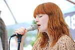 Florence Welch of Florence + The Machine performs live at 98.7 FM's Penthouse Party Pad at The Hollywood Tower Rooftop in Hollywood, California on June 14,2011                                                                               © 2011 DVS / RockinExposures