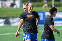 Boston, MA - Saturday June 24, 2017: Amanda Frisbie during a regular season National Women's Soccer League (NWSL) match between the Boston Breakers and the North Carolina Courage at Jordan Field.