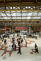 Victoria railway station,London, England.