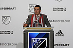 14 January 2016: Jack Harrison (ENG) was selected with the #1 overall pick by the Chicago Fire. Harrison was later traded during the draft to New York City FC. The 2016 MLS SuperDraft was held at The Baltimore Convention Center in Baltimore, Maryland as part of the annual NSCAA Convention.