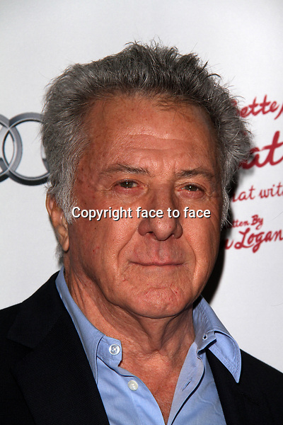 WESTWOOD, CA - December 05: Dustin Hoffman at the &quot;I'll Eat You Last: A Chat With Sue Mengers&quot; Opening Night, Geffen Playhouse, Westwood, December 05, 2013. <br />