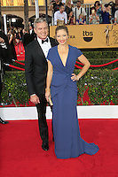 Eric Dane, Rebecca Gayheart at the 2015 Screen Actor Guild Awards at the Shrine Auditorium on January 25, 2015 in Los Angeles, CA David Edwards/DailyCeleb.com 818-249-4998