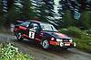 FORD Sierra RS Cosworth #3, Stig BLOMQVIST (SWE)-Bruno BERGLUND (SWE), 1000 LAKES RALLY 1987