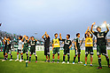 "Matsumoto Yamaga FC team group,SEPTEMBER 3, 2011 - Football / Soccer :Matsumoto Yamaga players acknowledge fans after the 91st Emperor's Cup first round match between Matsumoto Yamaga F.C. 3-0 Maruoka Phoenix at Matsumoto Stadium ""Alwin"" in Nagano, Japan. (Photo by AFLO)"