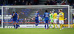 Inverness Caledonian Thistle v St Johnstone...27.10.12      SPL.Andrew Shinnie holds his head after blasting his penalty over the bar.Picture by Graeme Hart..Copyright Perthshire Picture Agency.Tel: 01738 623350  Mobile: 07990 594431