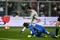 Goal annul of Cristiano Ronaldo Juventus <br /> Reggio Emilia 10-2-2019 Stadio Mapei, Football Serie A 2018/2019 Sassuolo - Juventus<br /> Foto Andrea Staccioli / Insidefoto