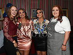 Jade McElroy celebrating her 21st birthday in the Trinity Quarter with friends Eimear Hoban, Sharon Heasley and Emily Gaughran. Photo:Colin Bell/pressphotos.ie
