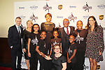Timothy Goebel - Tina Lundgren - Robin Roberts - Al Roker - Ellen Lowey & skaters - Figure Skating in Harlem presents Champions in Life Benefit Gala on April 29, 2019 at Chelsea Pier, New York City, New York - (Photo by Sue Coflin/Max Photos)